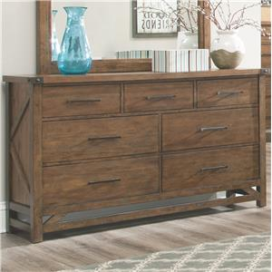 Coaster Bridgeport Dresser with 7 Drawers