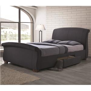 Coaster Bristol Fully Upholstered King Bed