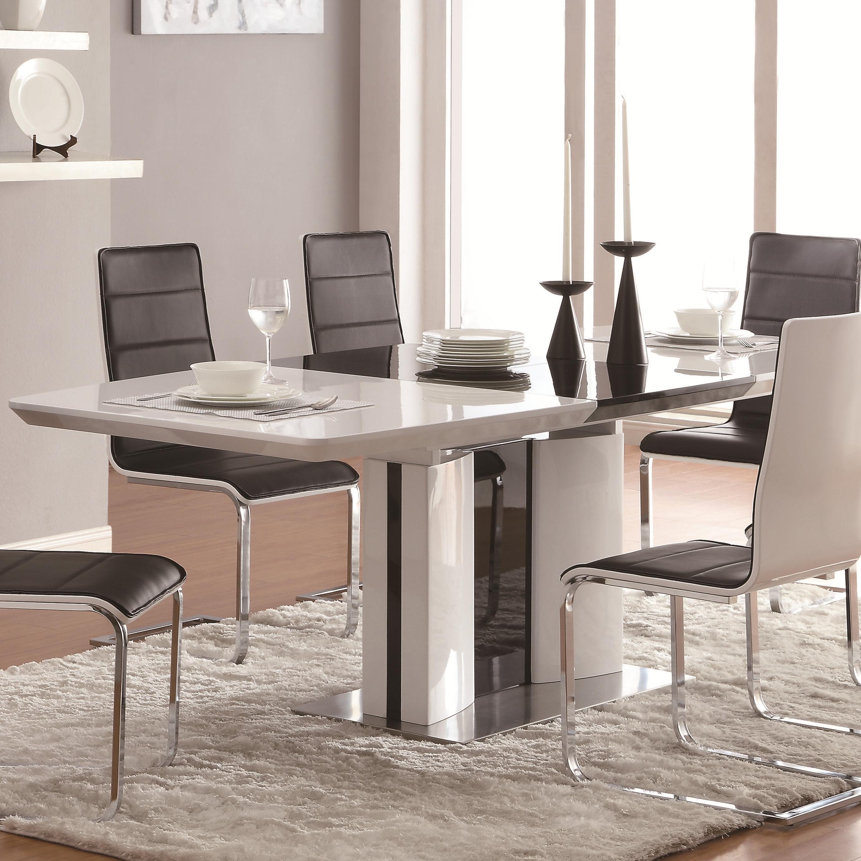 Coaster Broderick Rectangular Dining Table - Item Number: 120941