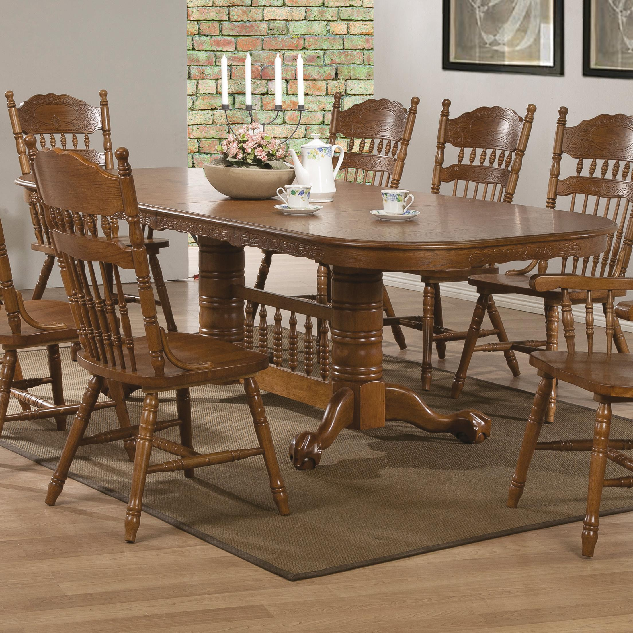 Coaster Brooks Dining Table - Item Number: 104271