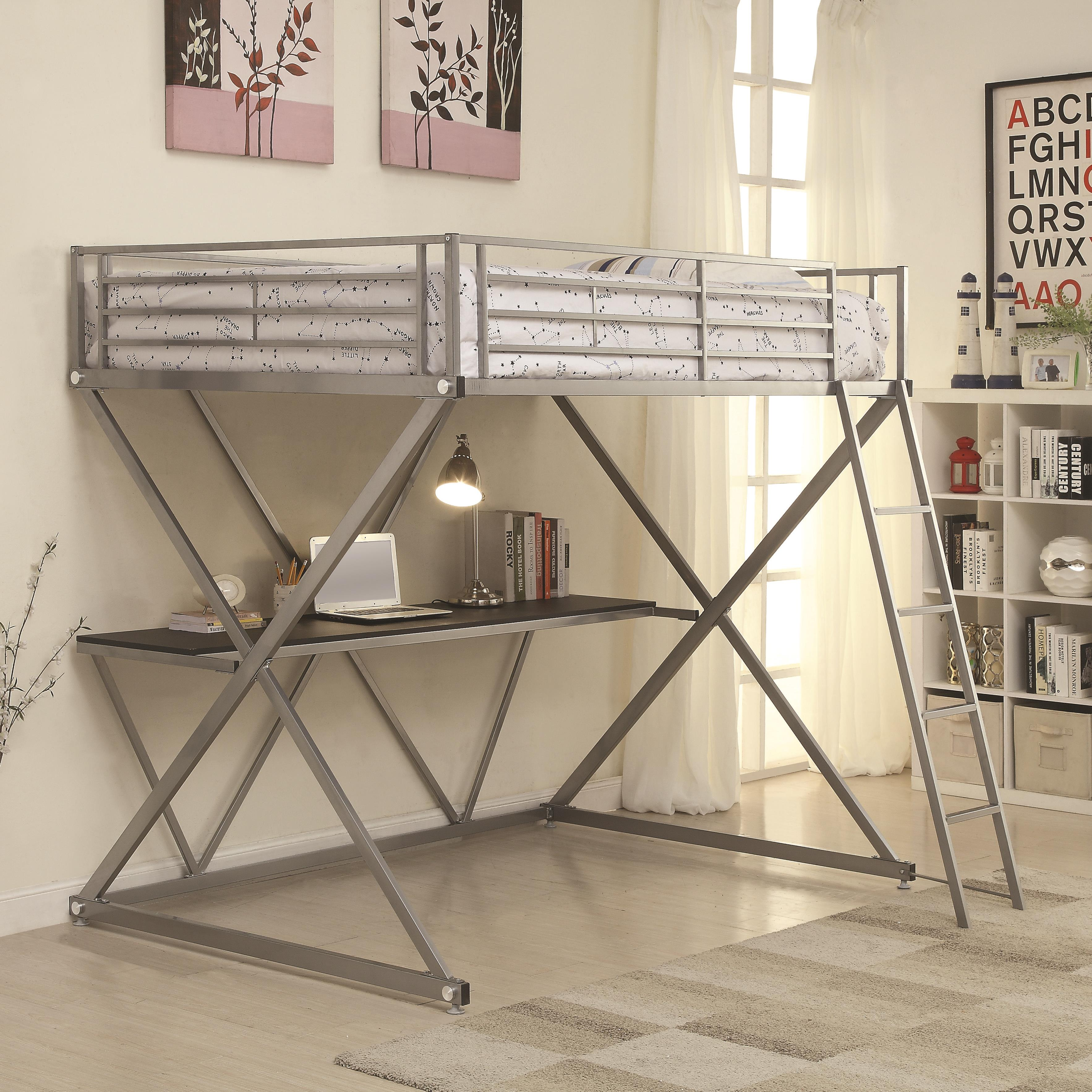 Bunks Full Loft Bed by Coaster at Northeast Factory Direct