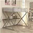 Coaster Bunks Full Loft Bed - Item Number: 400034F