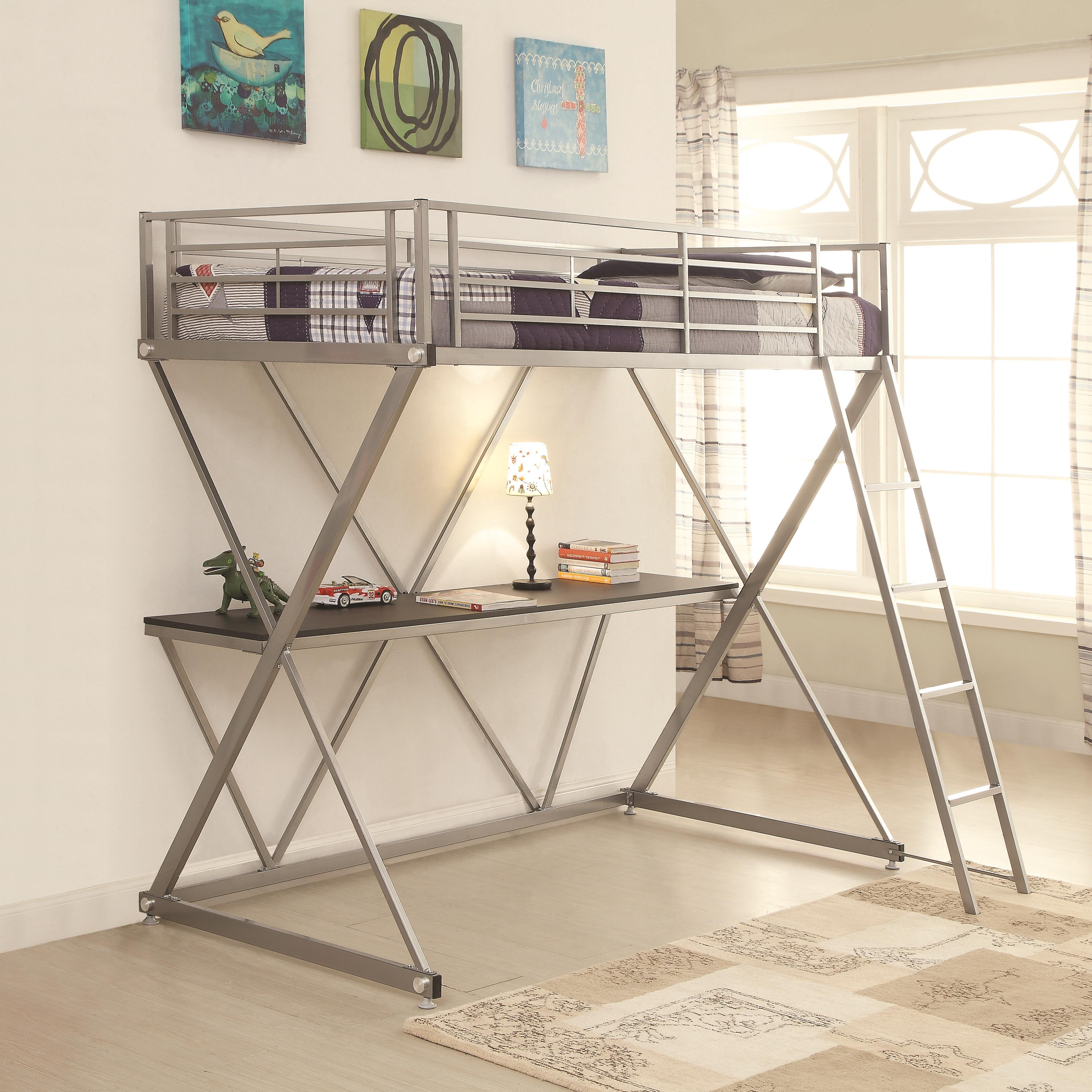Coaster Bunks Loft Bed - Item Number: 400034T