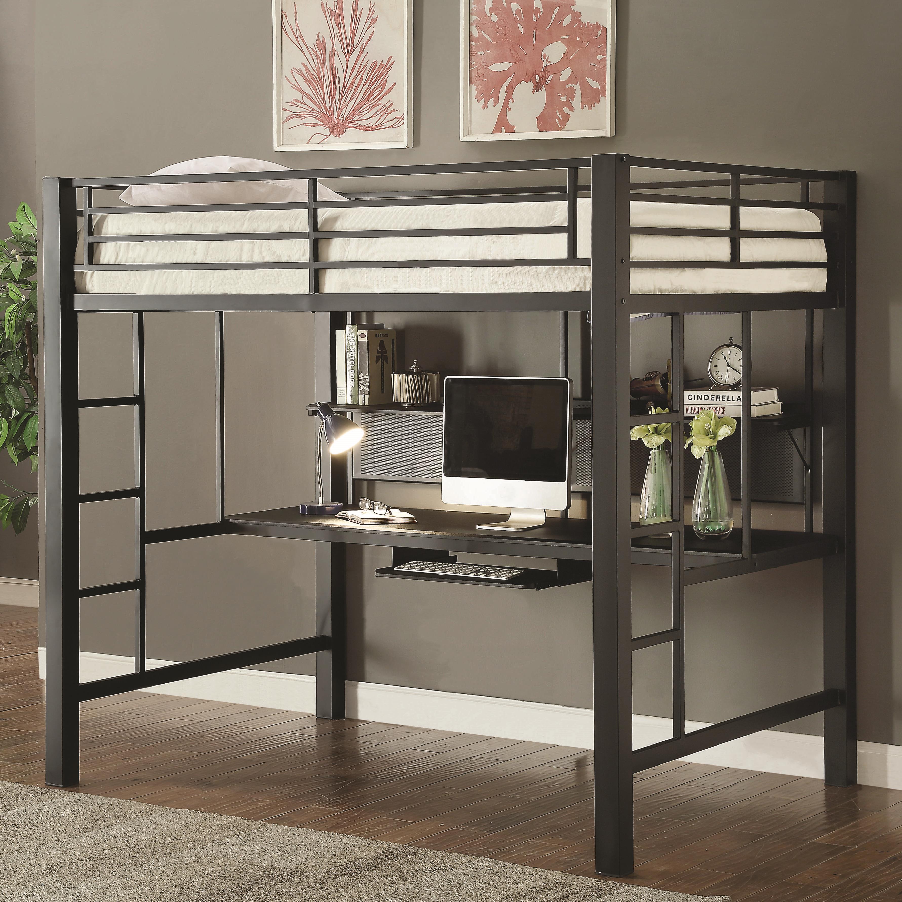 Coaster Bunks Workstation Full Loft Bed Value City
