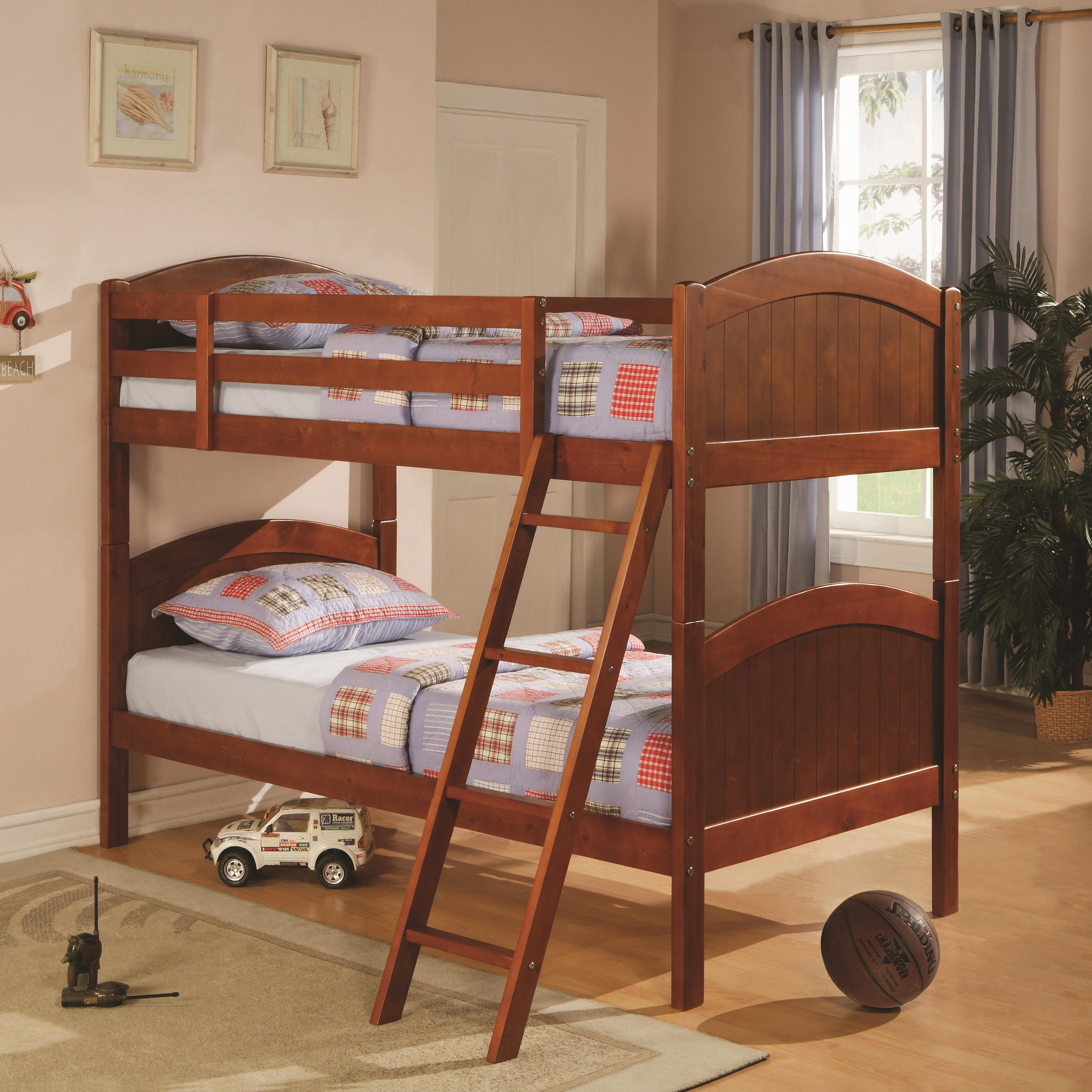 Coaster Bunks Twin Bunk Bed - Item Number: 460203