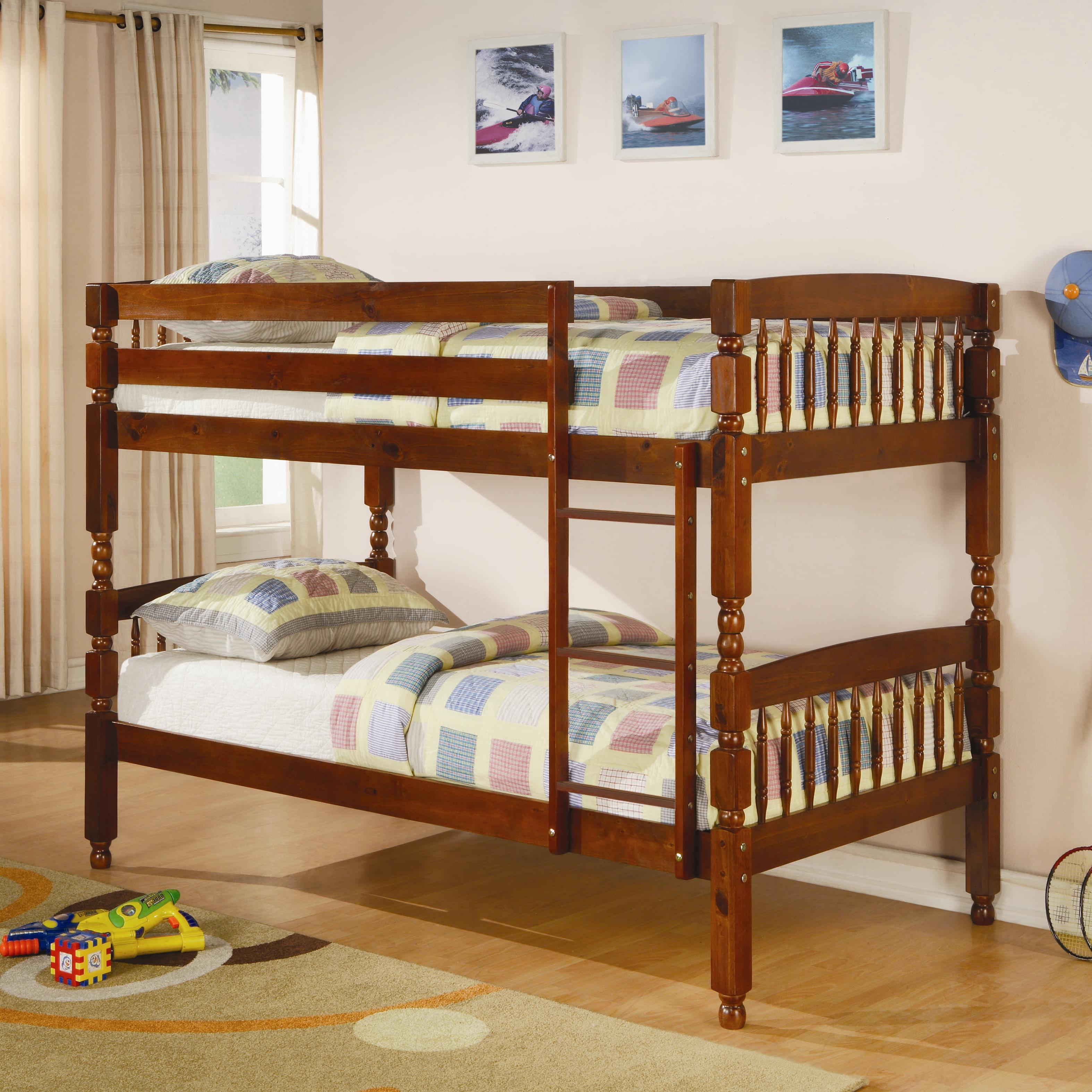 Coaster Bunks Twin Bunk Bed - Item Number: 460223