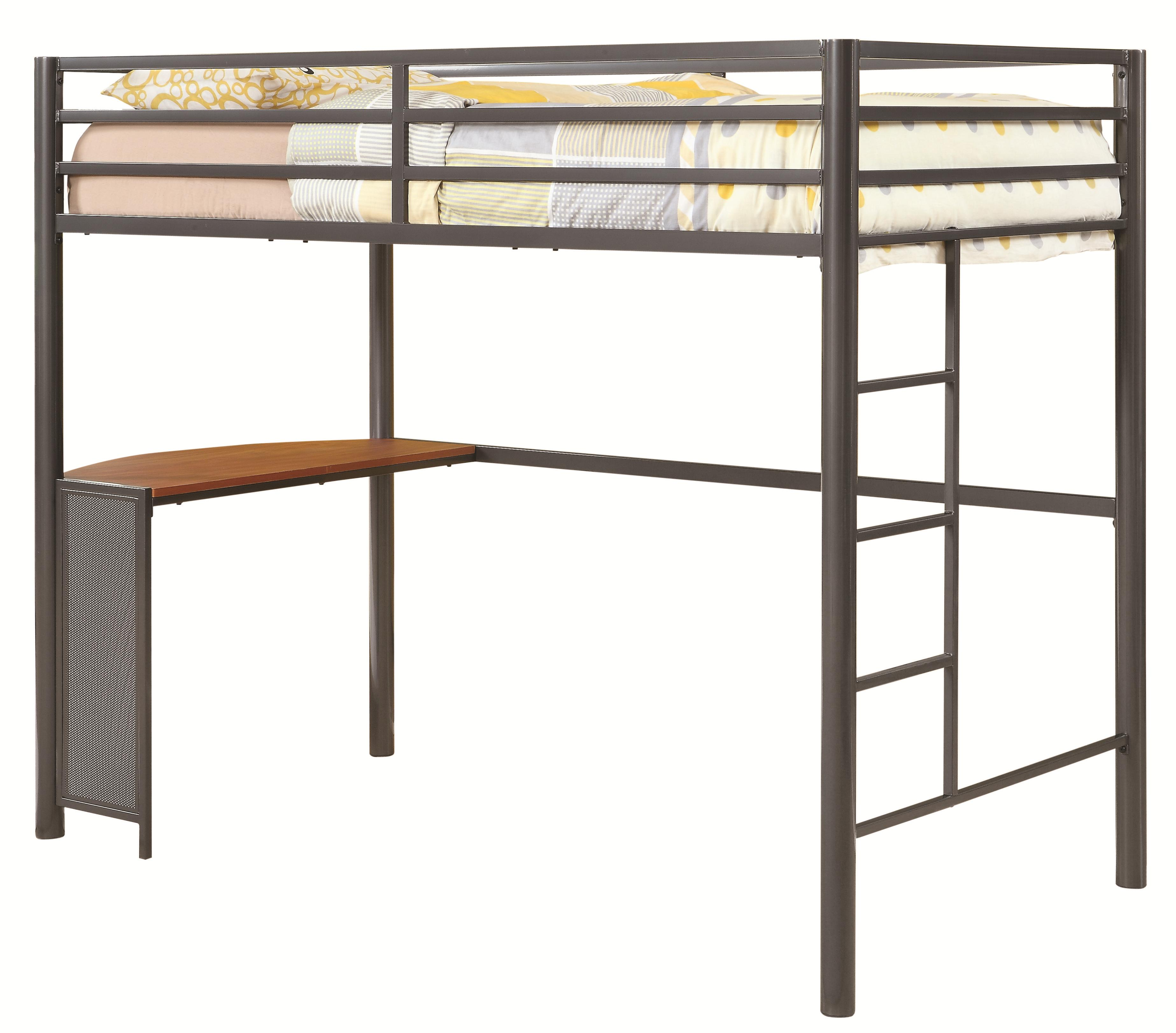 Bunks Twin Workstation Bed by Coaster at Standard Furniture