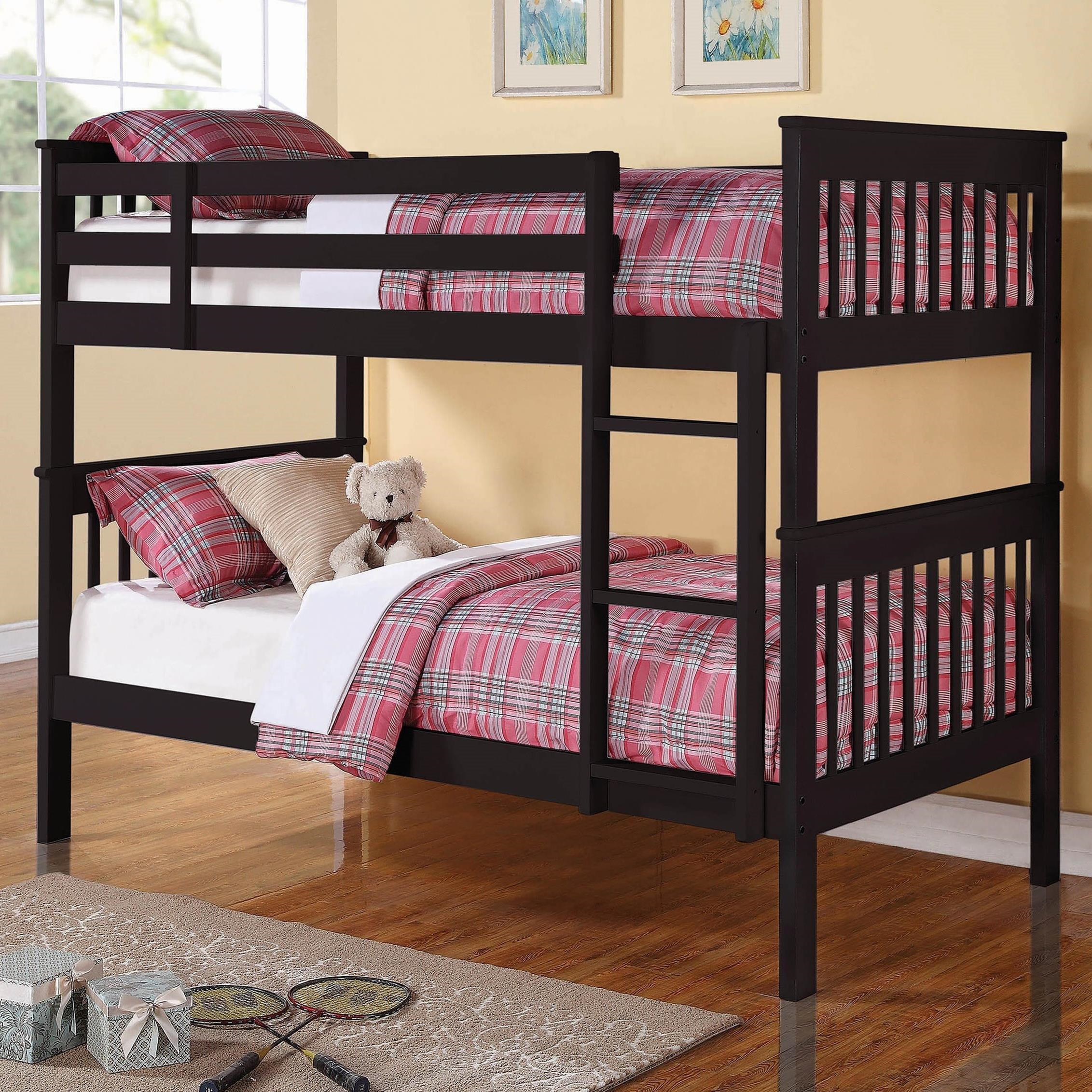 Bunks Chapman Twin/Twin Bunk Bed by Coaster at Northeast Factory Direct