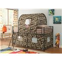 Coaster Bunks Camouflage Tent Loft Bed