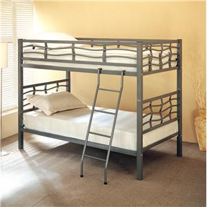 Coaster Bunks Twin Bunk Bed