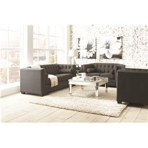 Coaster Cairns Stationary Living Room Group