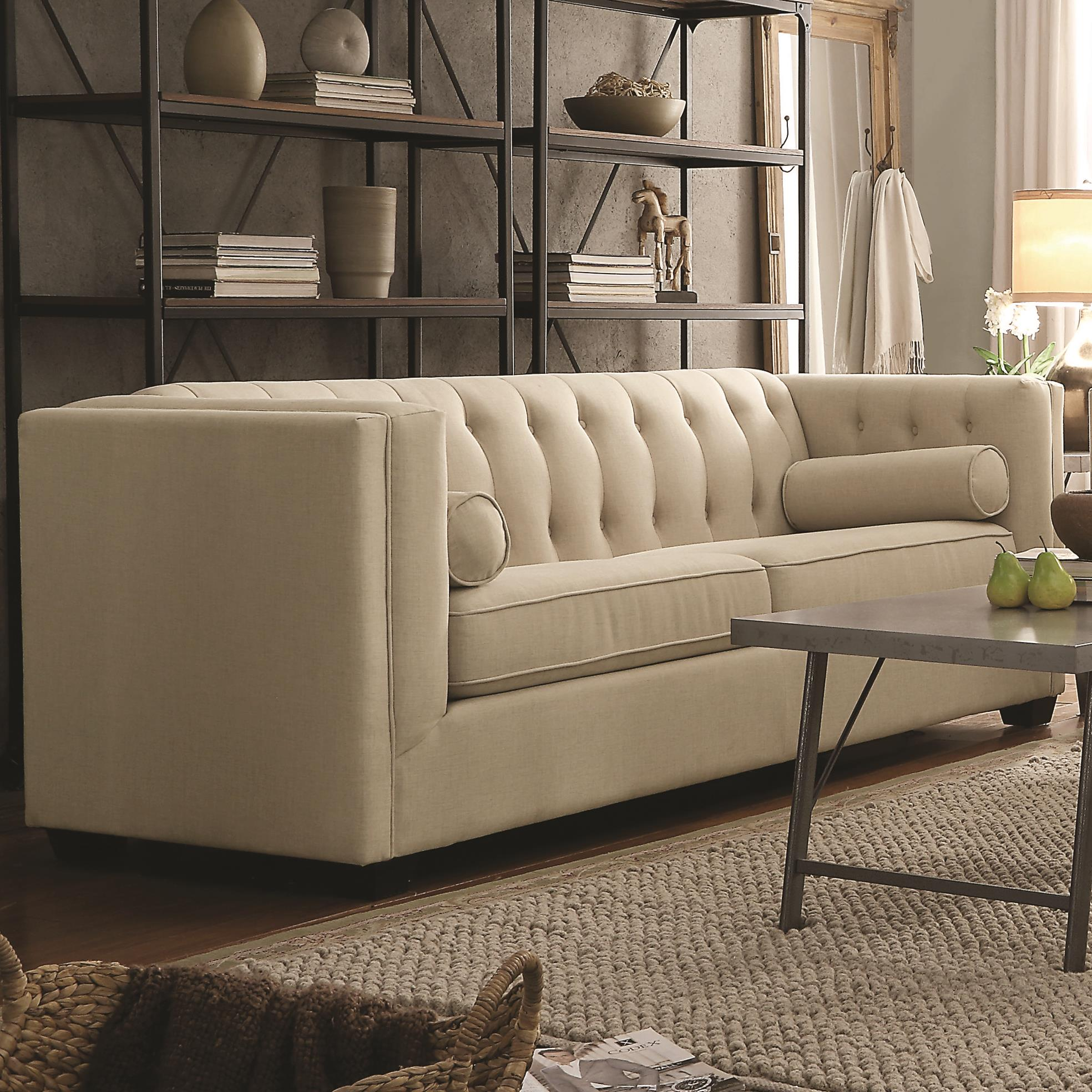 Cairns Sofa by Coaster at A1 Furniture & Mattress