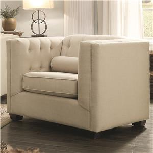Coaster Cairns Upholstered Chair