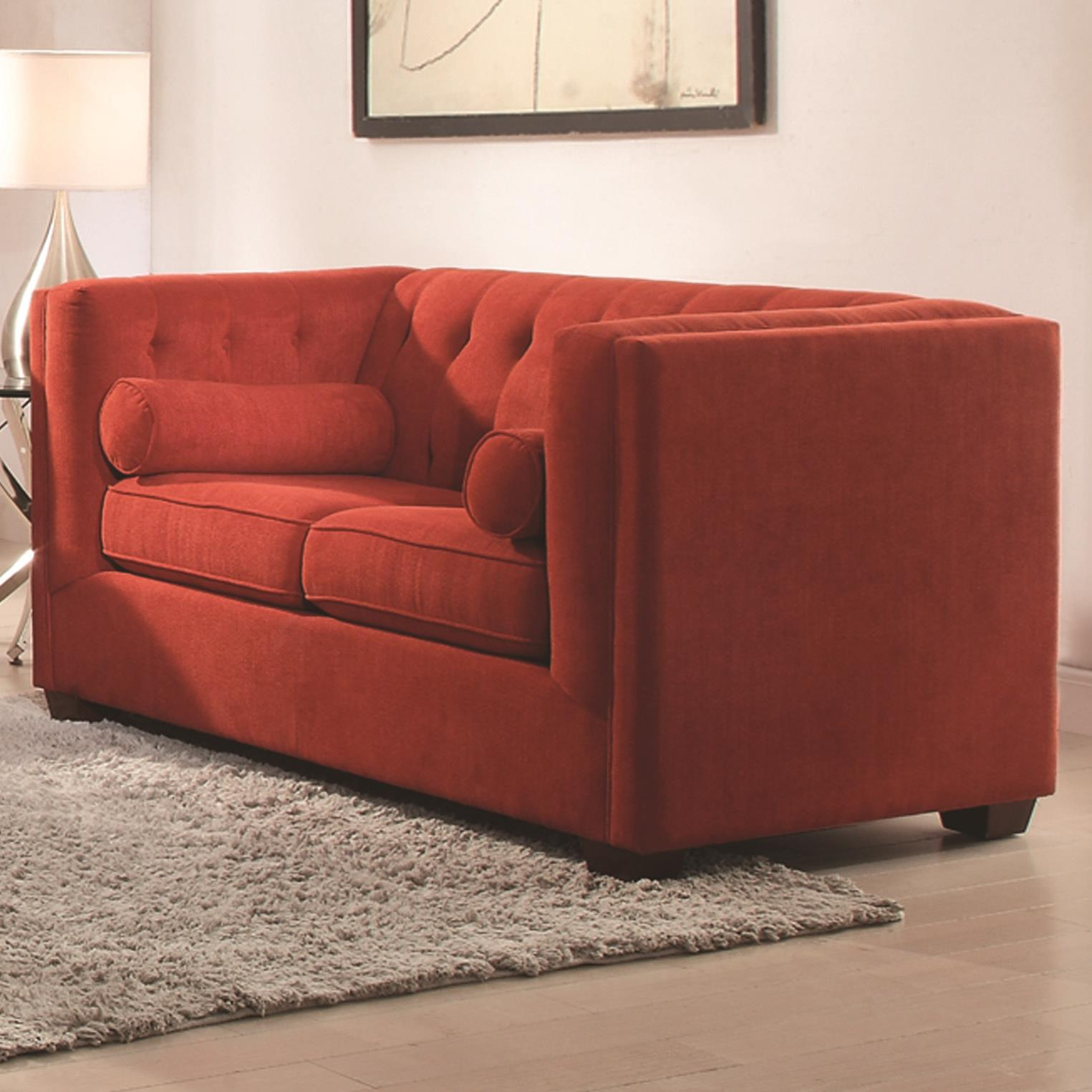 Coaster Cairns Love Seat - Item Number: 504908