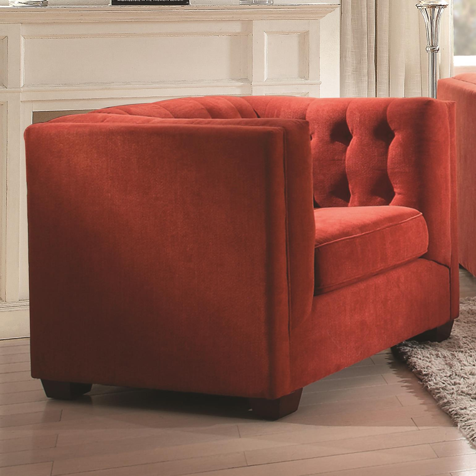 Coaster Cairns Upholstered Chair - Item Number: 504909