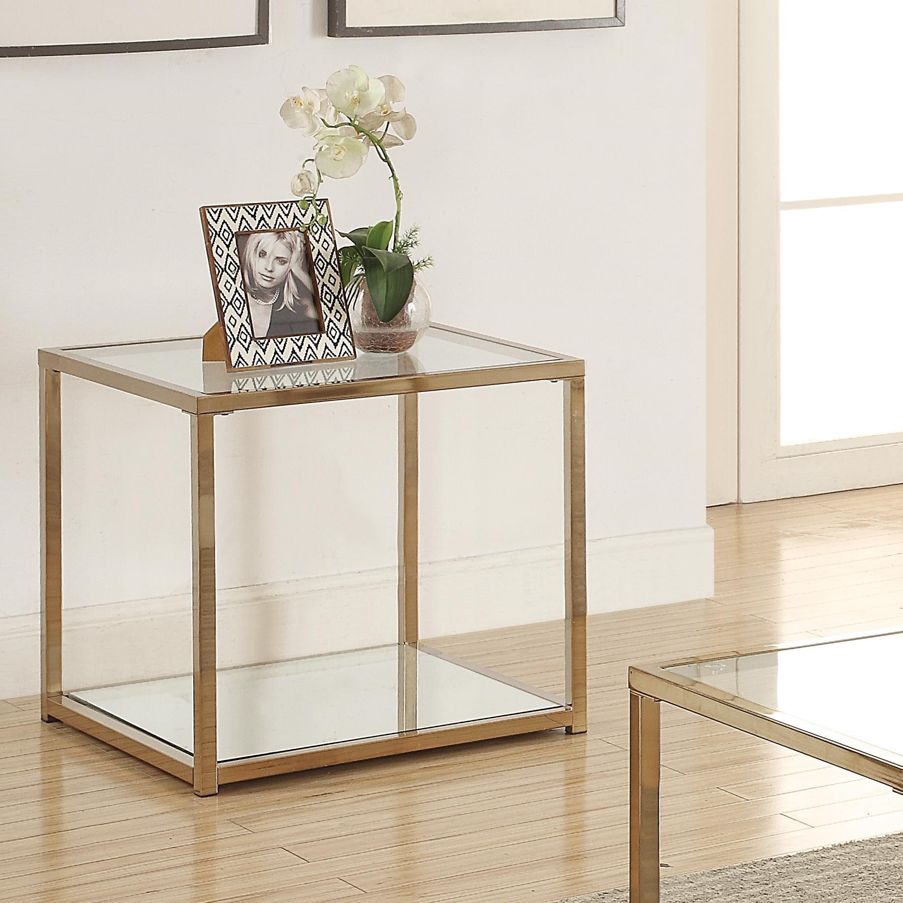 Calantha End Table by Coaster at Northeast Factory Direct