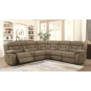 Coaster Camargue Reclining Sectional