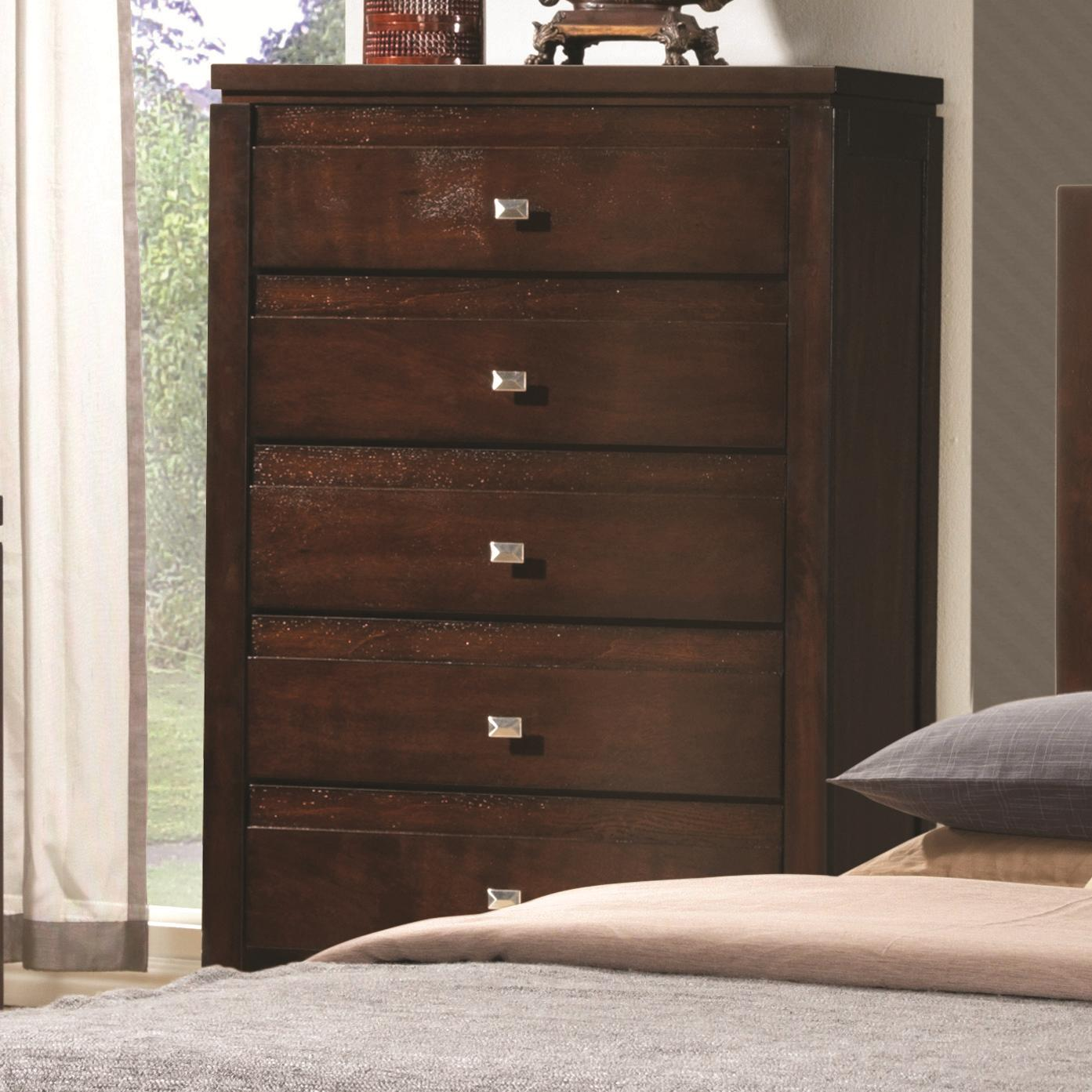 Coaster Cameron Chest of Drawers - Item Number: 203495