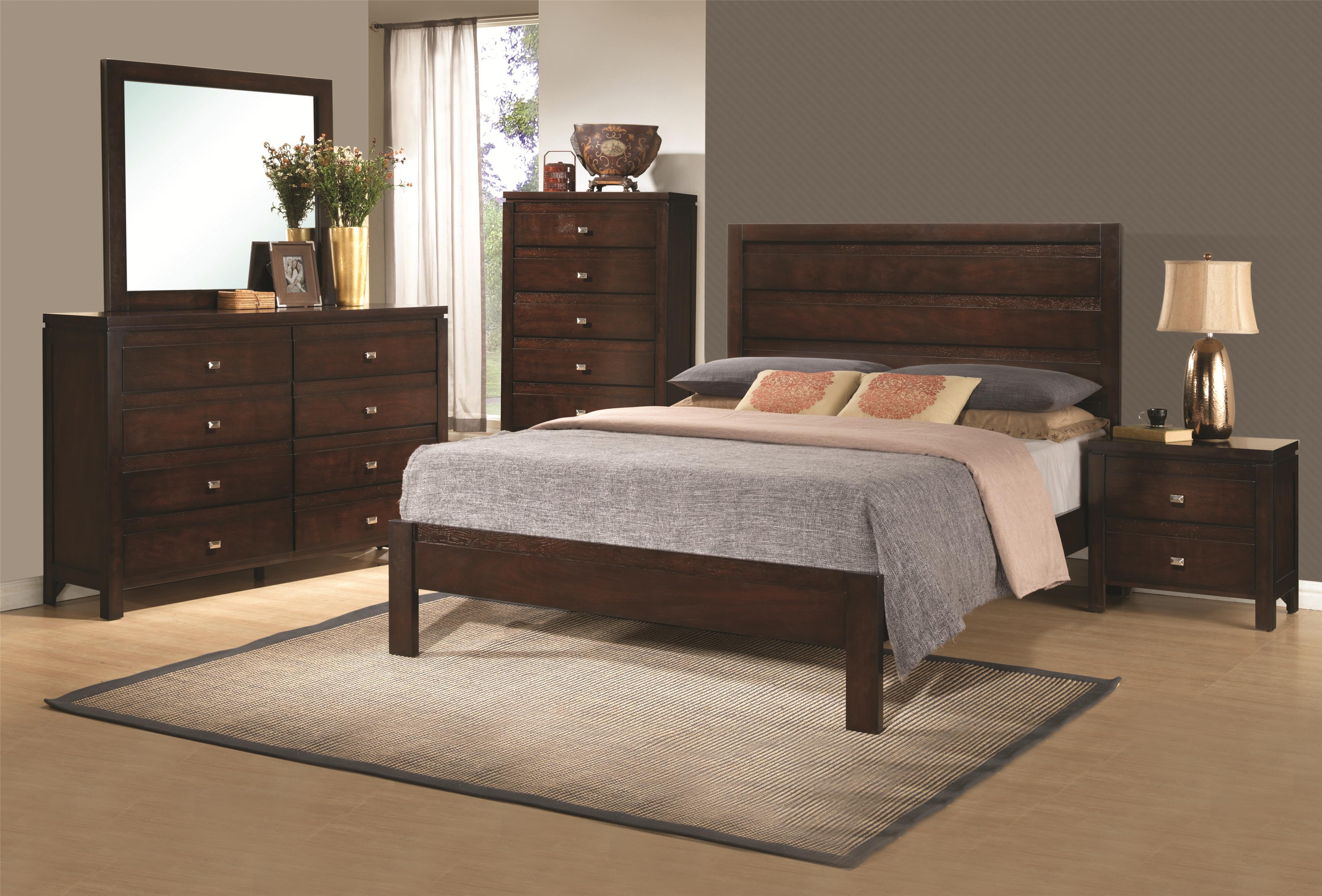 Coaster Cameron K Bedroom Group - Item Number: K Bedroom Group