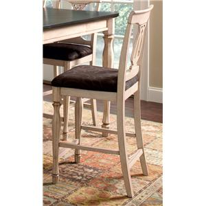 Coaster Camille Counter Height Chair