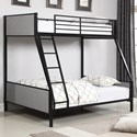 Coaster Capshaw Twin/Full Bunk Bed - Item Number: 461114