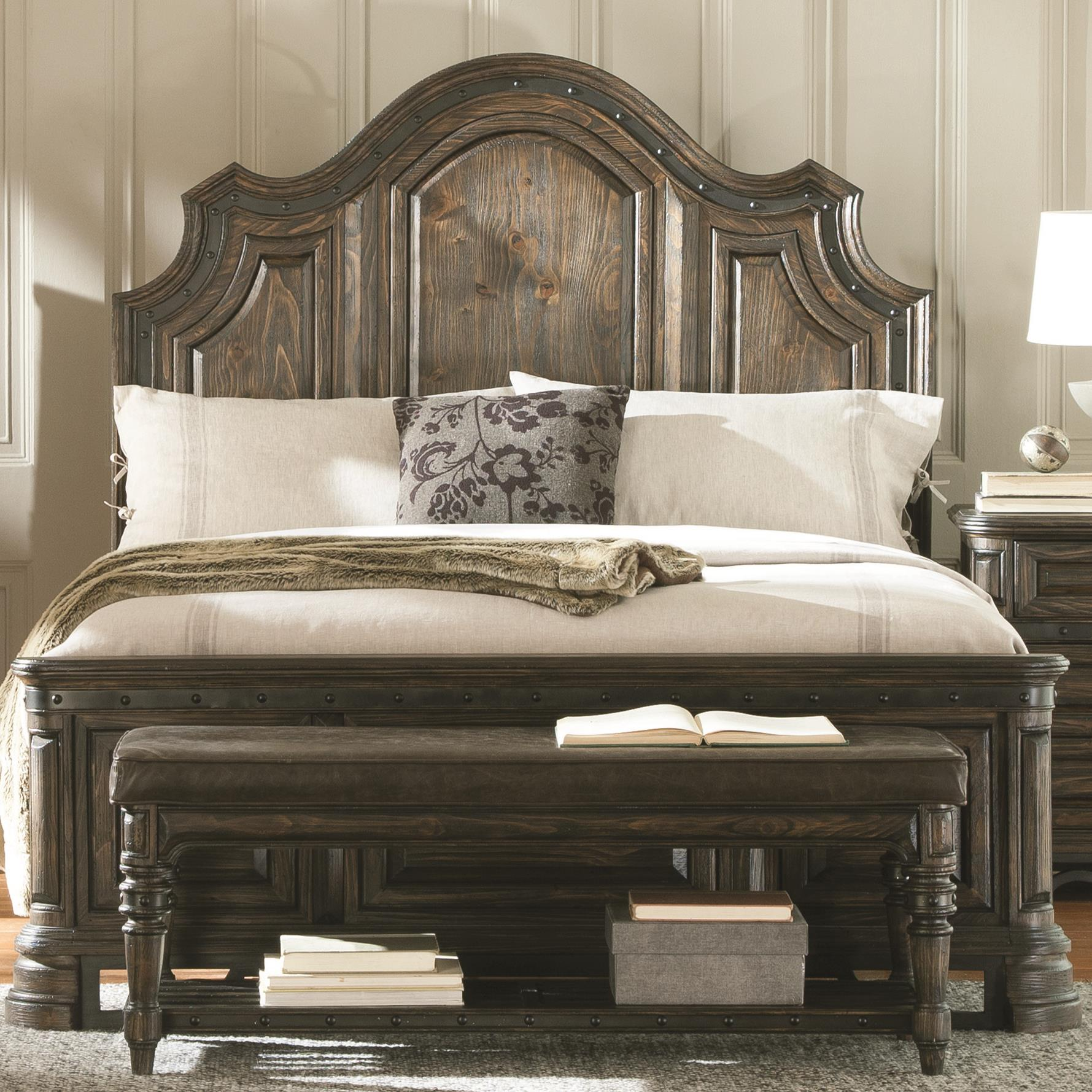 Coaster Carlsbad Queen Panel Bed   Item Number: 204041Q