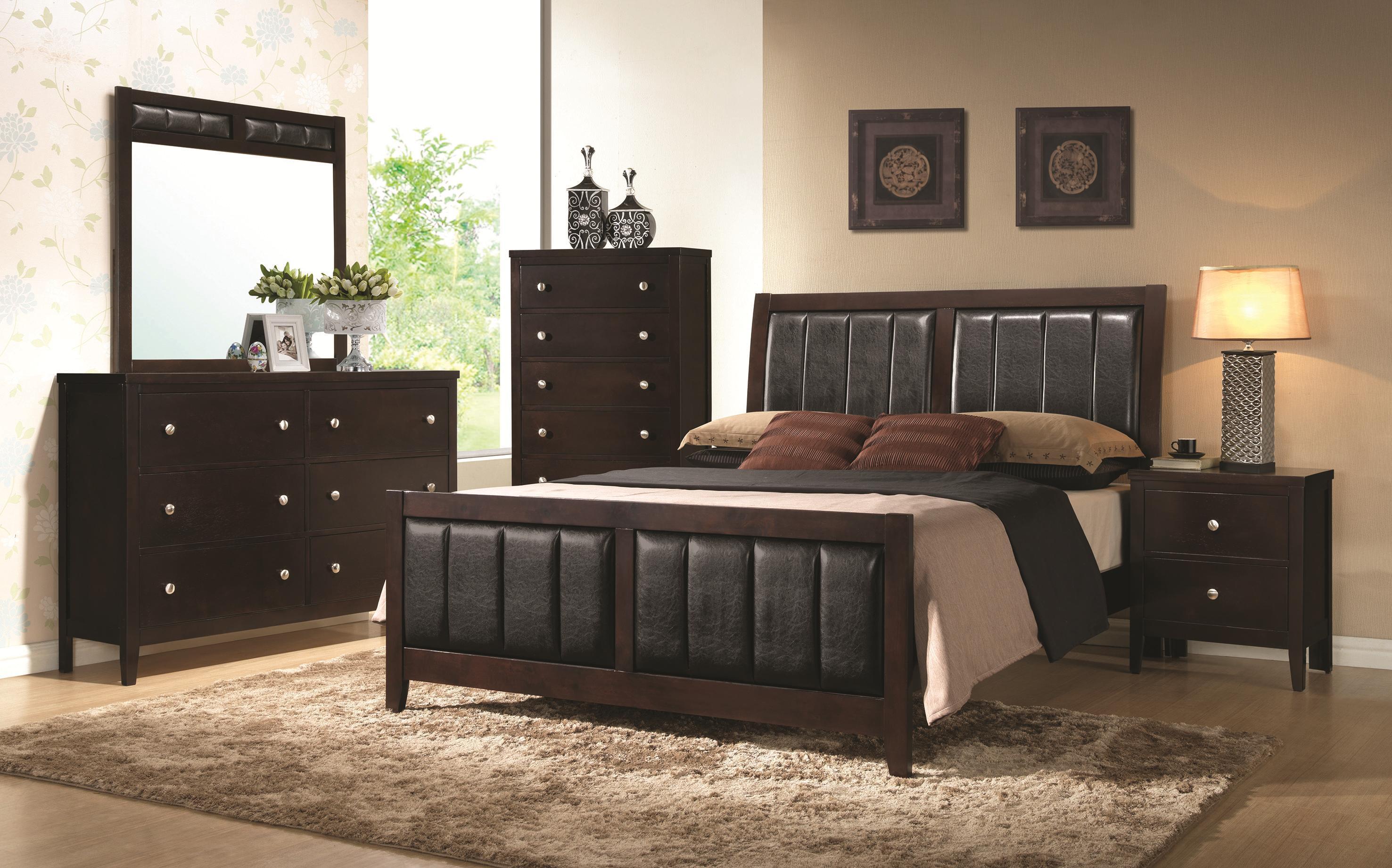 Coaster Carlton Queen Bedroom Group - Item Number: 20209 Q Bedroom Group