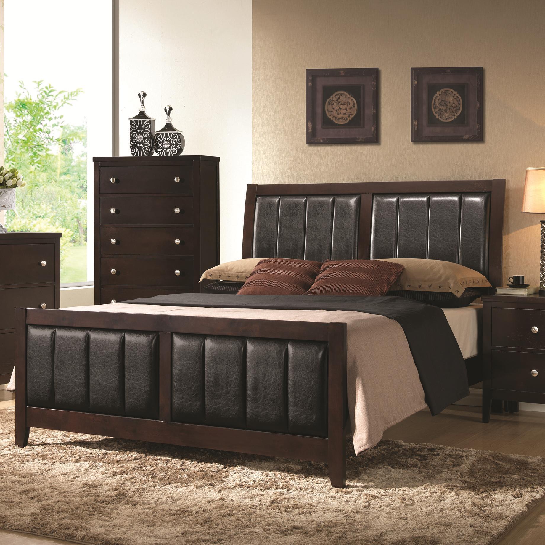 Coaster Carlton California King Bed - Item Number: 202091KW
