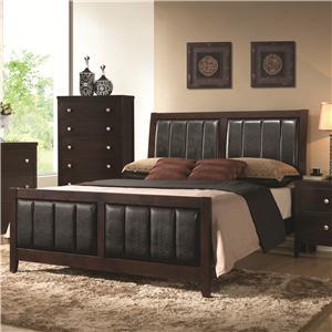 Coaster Carlton Queen Bed
