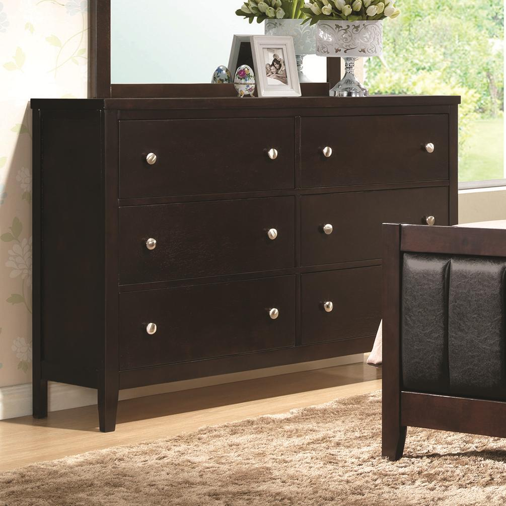Coaster Carlton Dresser With 6 Drawers Value City Furniture Dressers