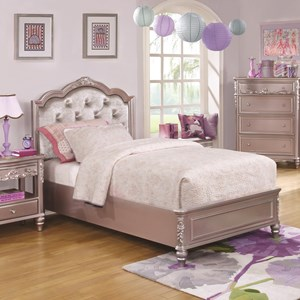 Coaster Caroline Queen Size Bed