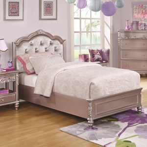 Coaster Caroline Twin Size Bed
