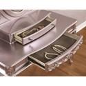 Coaster Caroline Vanity Desk & Mirror with Cabriole Legs