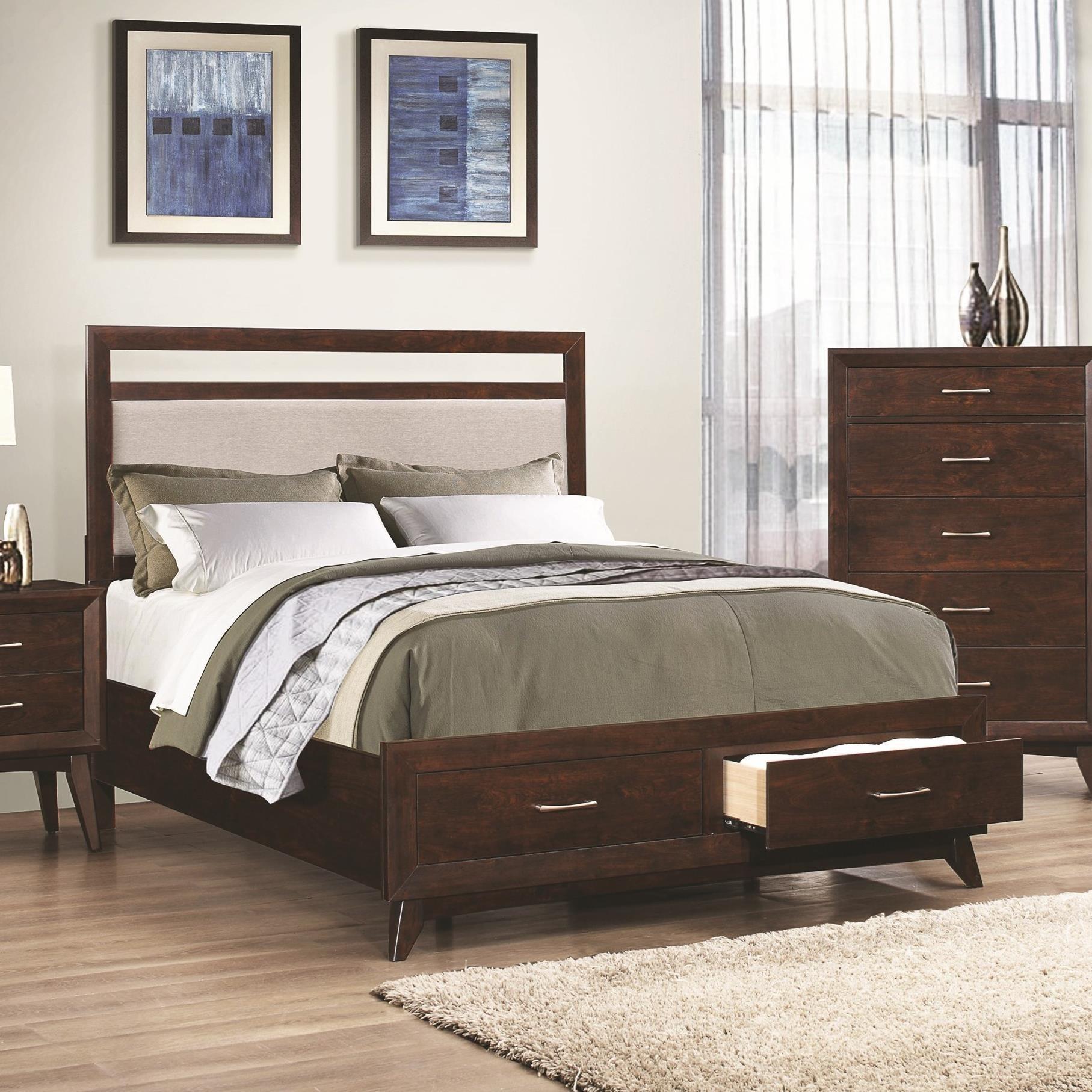 Coaster Carrington Queen Storage Bed - Item Number: 205041Q