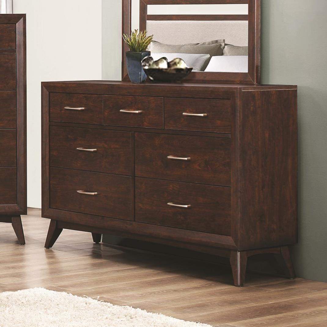 Coaster Carrington 7 Drawer Dresser - Item Number: 205043