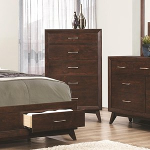 Coaster Carrington 5 Drawer Chest