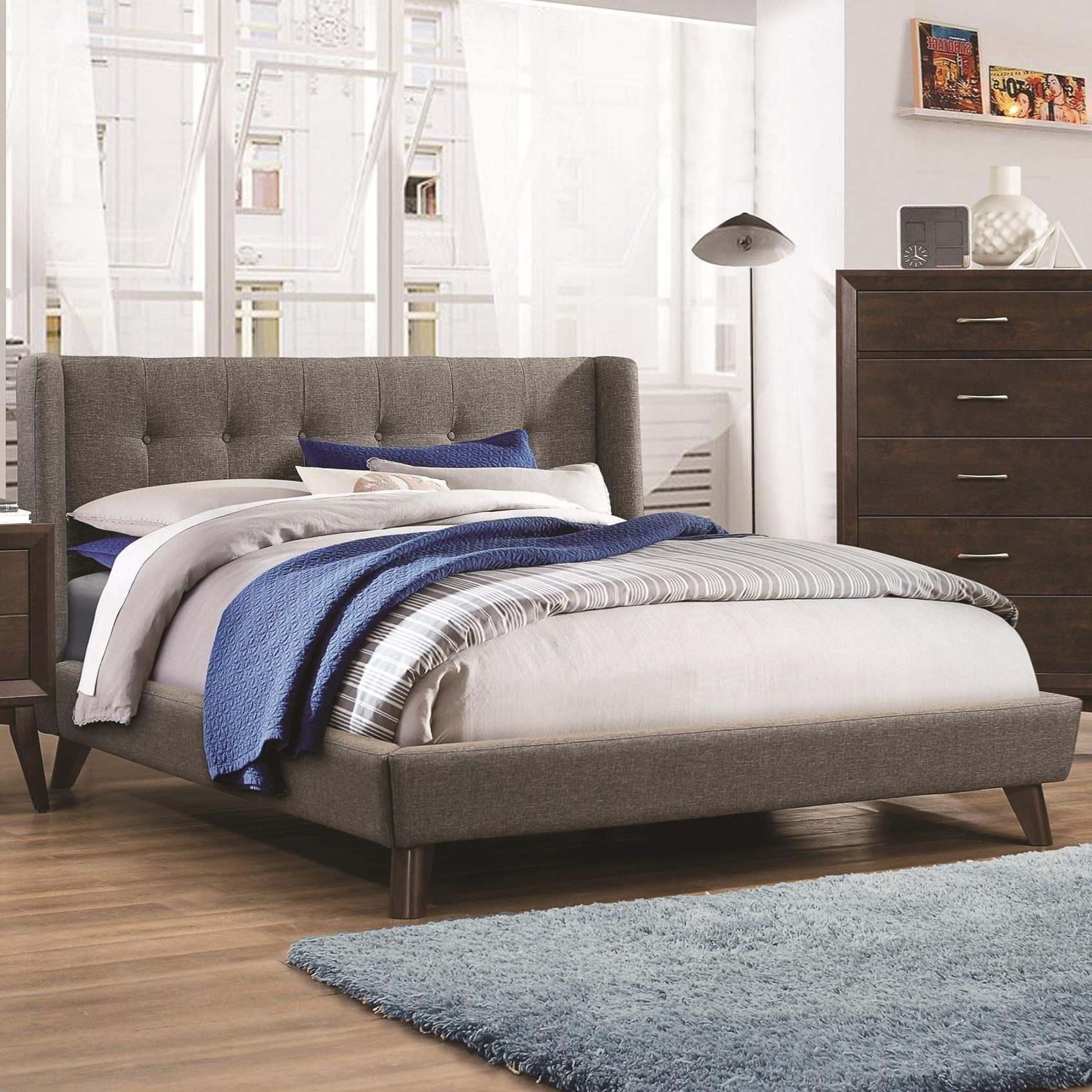 Carrington California King Bed by Coaster at Northeast Factory Direct