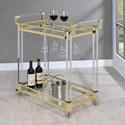 Coaster Chanel Serving Cart - Item Number: 181000
