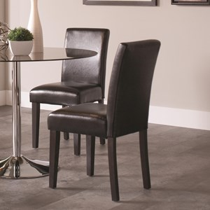 Coaster Clemente Upholstered Dining Chair