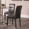 Coaster Clemente Upholstered Dining Chair - Item Number: 101785
