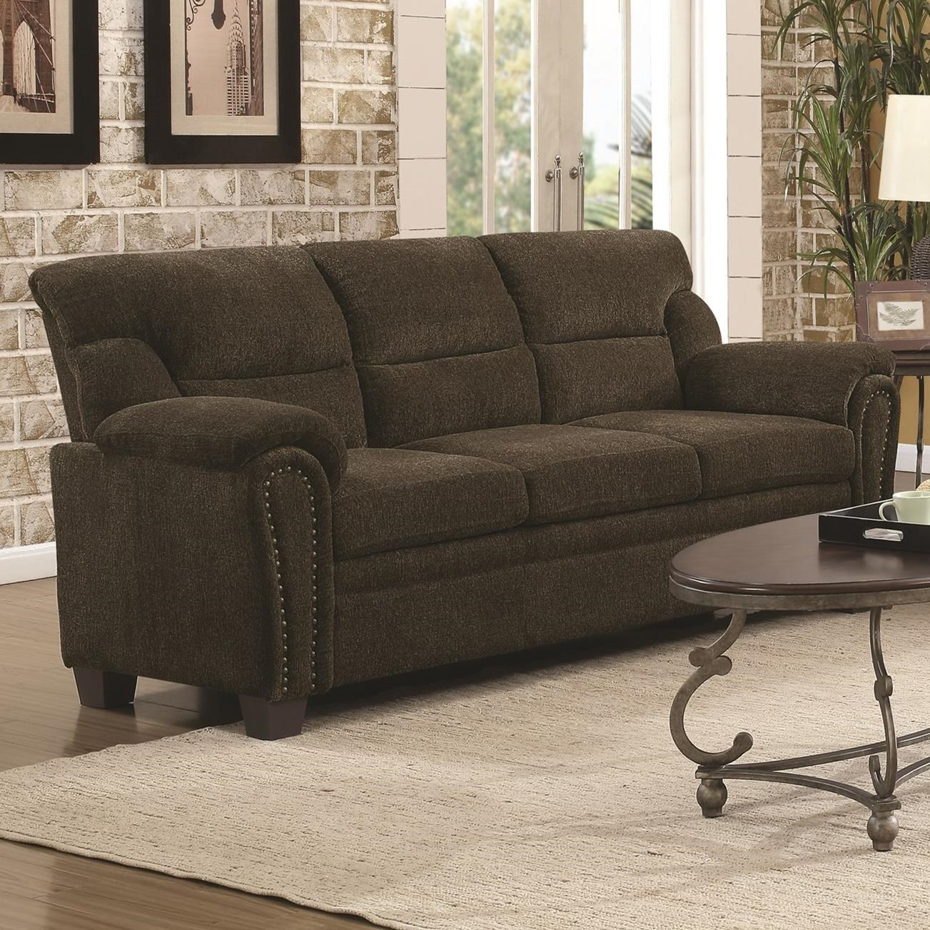Clemintine by Coaster Sofa by Coaster at Northeast Factory Direct
