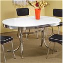 Coaster Cleveland Oval Dining Table - Item Number: 2065