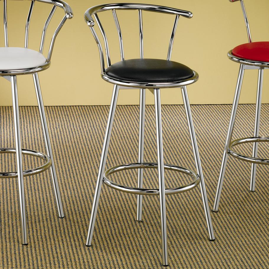 Coaster Cleveland Chrome Plated Bar Stool - Item Number: 2244