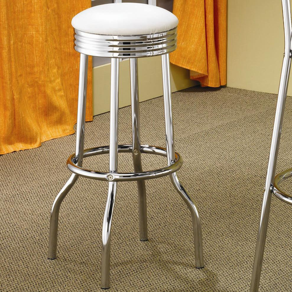 Cleveland Soda Fountain Bar Stool by Coaster at Northeast Factory Direct