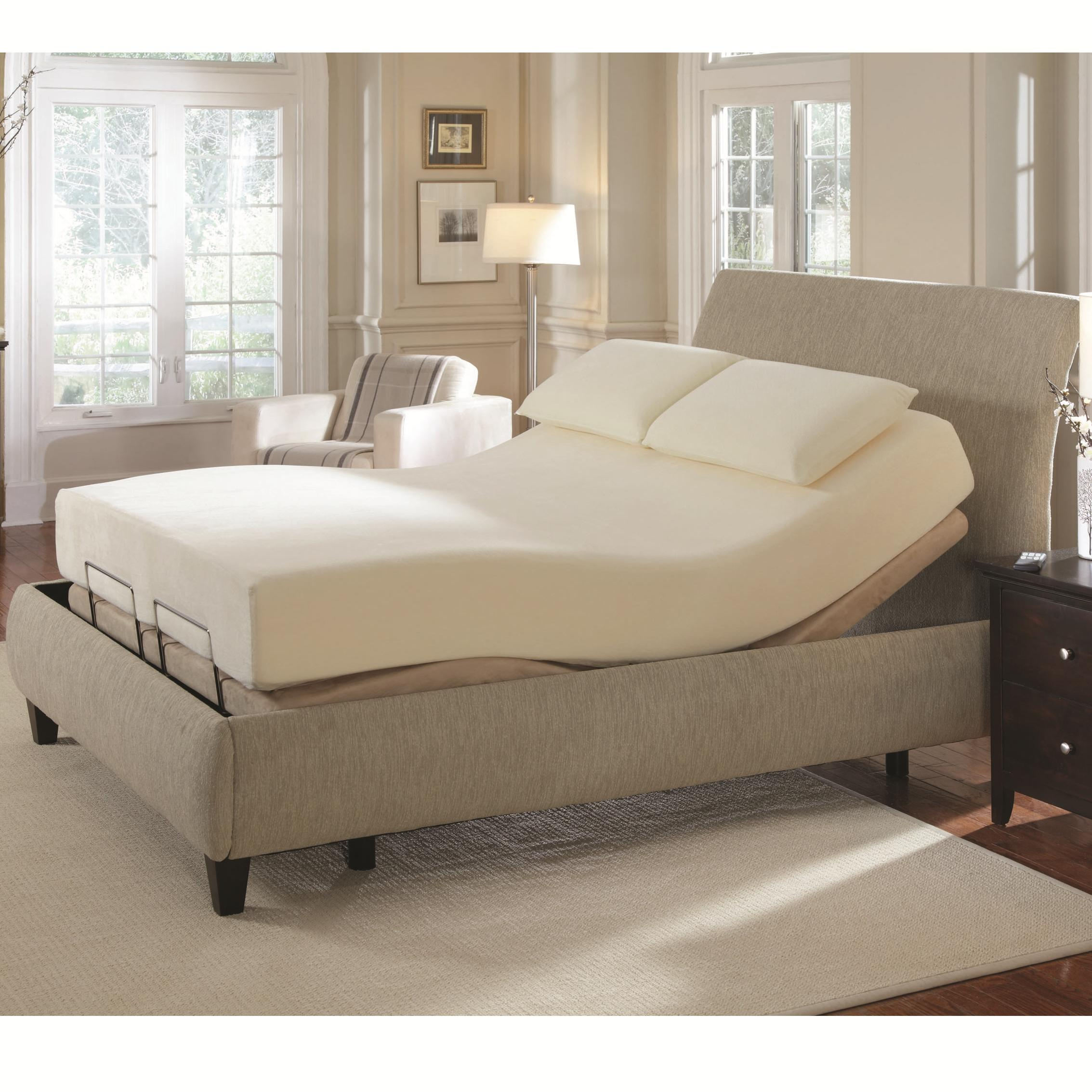 Coaster Coaster Foundations King Premier Bedding Pinnacle Adj Base - Item Number: 300130KEM