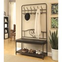 Coaster Coat Racks Hall Tree - Item Number: 900932