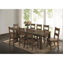 Coaster Coleman Table and Chair Set - Item Number: 107041+8x107042
