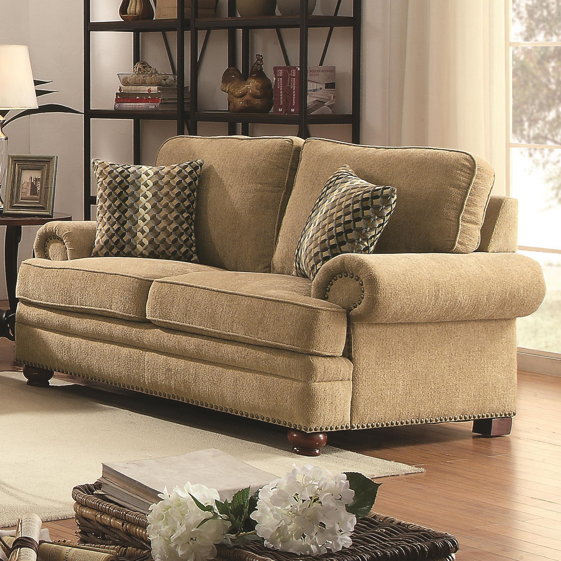 Coaster Colton Love Seat - Item Number: 505852