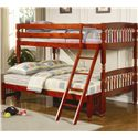 Coaster Coral Twin Over Full Bunk Bed - Item Number: 460222