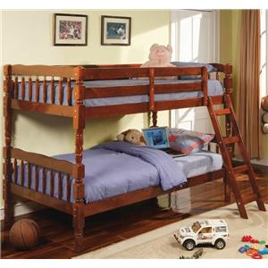 Coaster Corinth Twin Bunk Bed